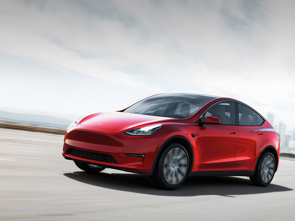 The car floor mat mold of Tesla Model Y 2020 is under development