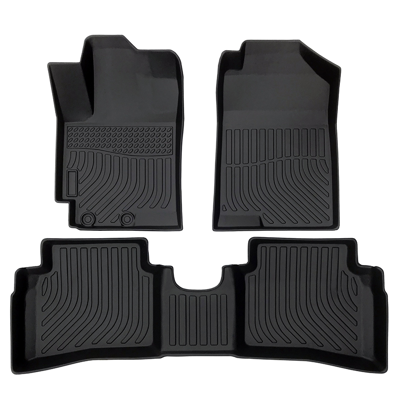 TPE car floor liner car floor mat for 2017-2020 Hyundai Accent Matting