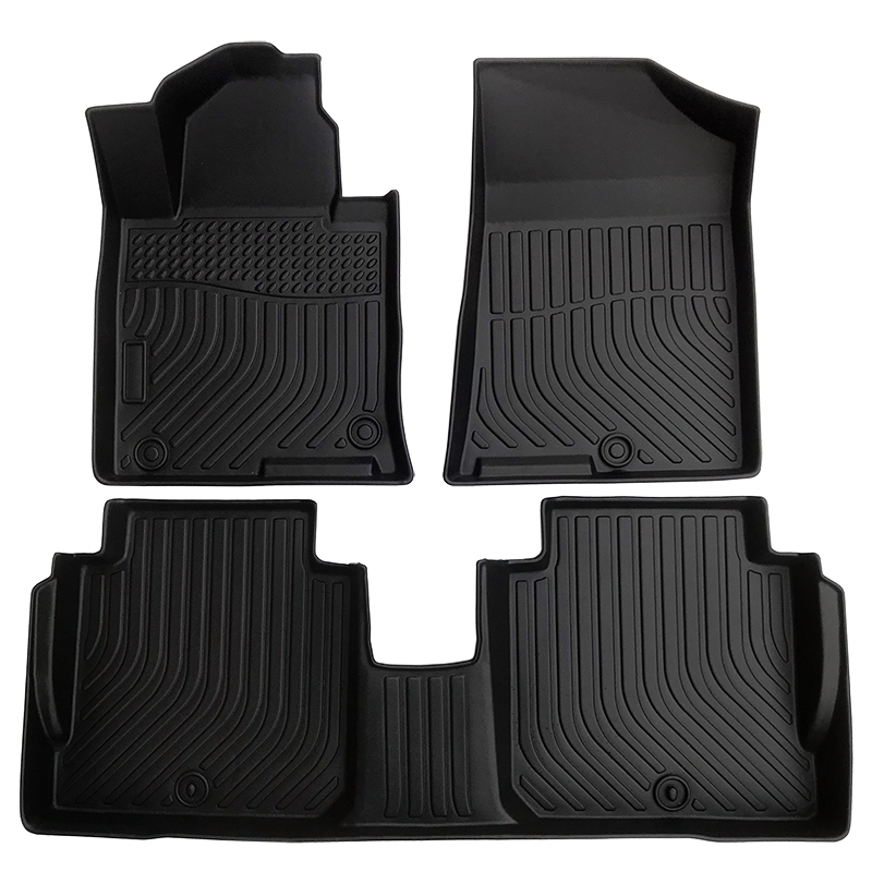 TPE weather floor liner car floor mat for 2016-2020 Kia Cadenza