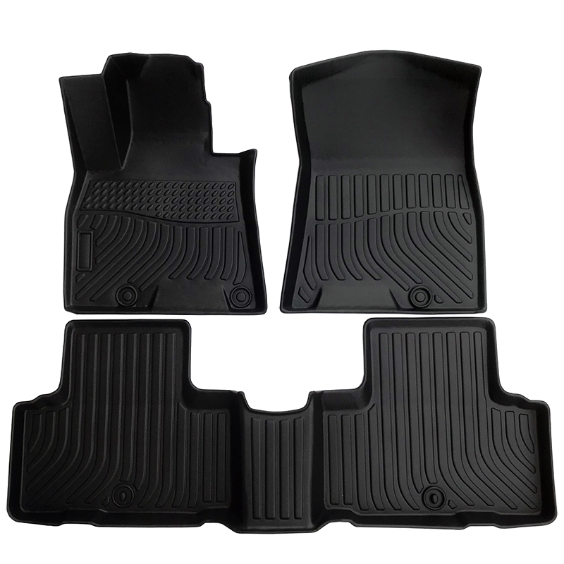 Tpe car floor mat for Genesis GV80 2020 car floor liner