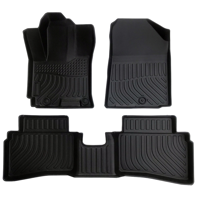 TPE weather floor liner car floor mat for 2019-2020 Hyundai Venue