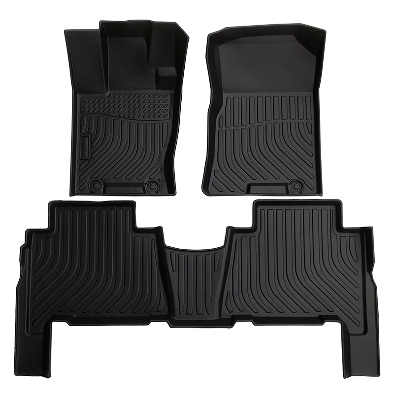 Tpe car floor mat for Kia Mohave 2008-2020 car floor liner carpet