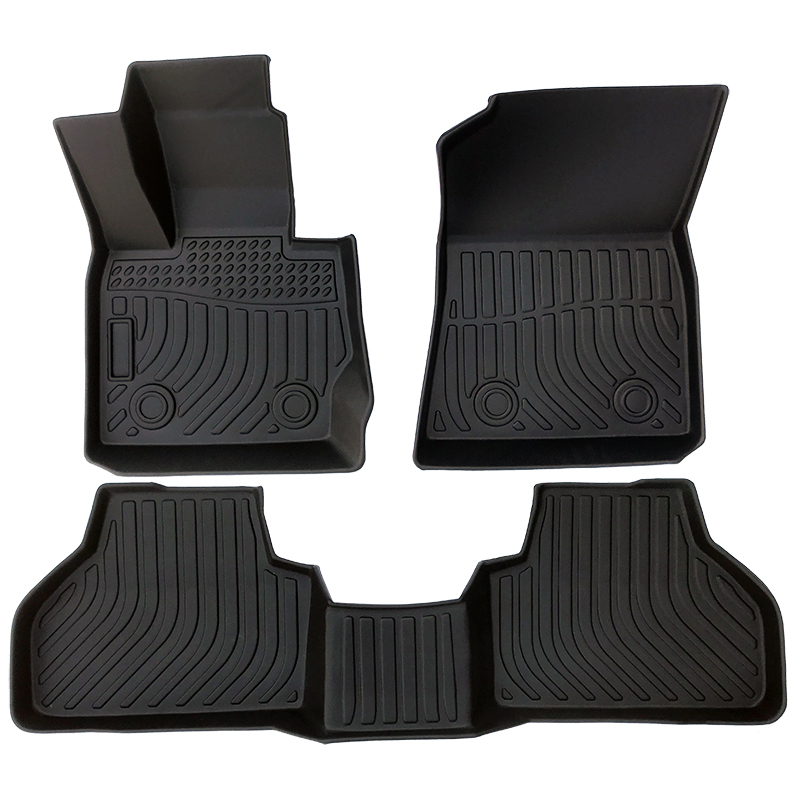 TPE weather floor liners car floor mats for 2011-2018 BMW X3 F25