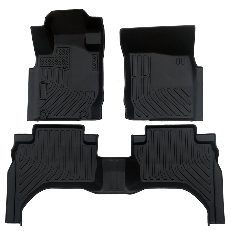 TPE car floor liner mat for 2015-2020 Mitsubishi Triton carpet matting