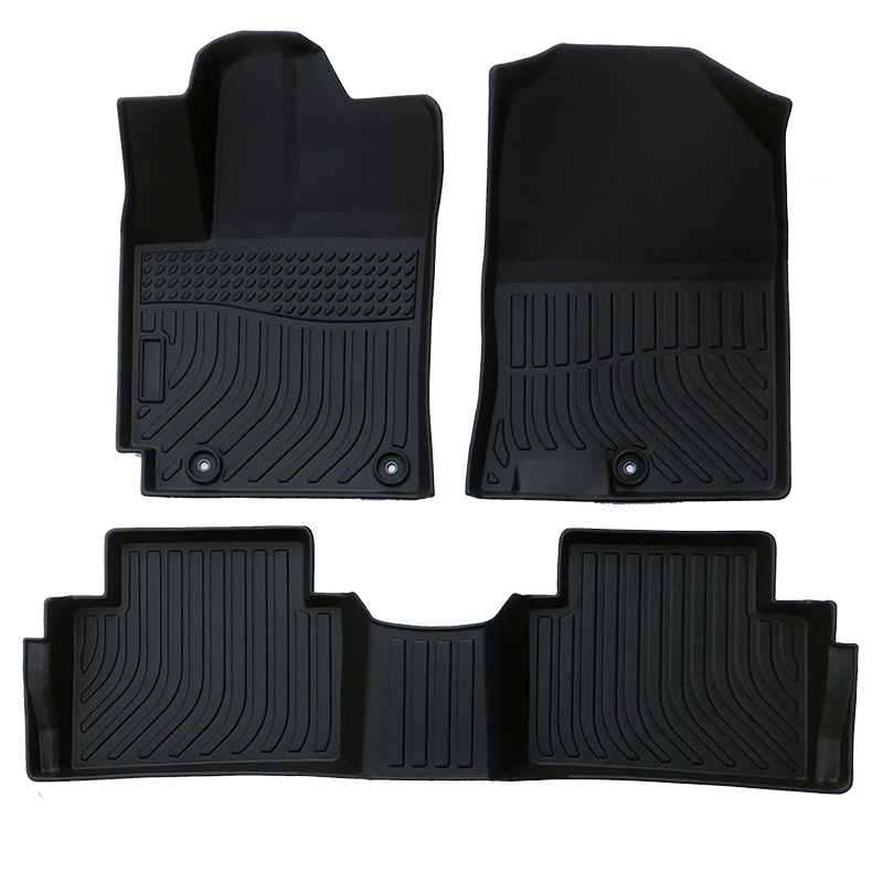 TPE all weather car floor liner for Hyundai Kona Trunk mat matting carpet