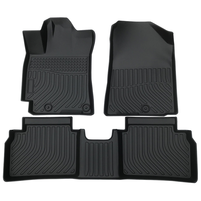 3D TPE all weather floor liner floor mat for 2019-2020 Kia Forte