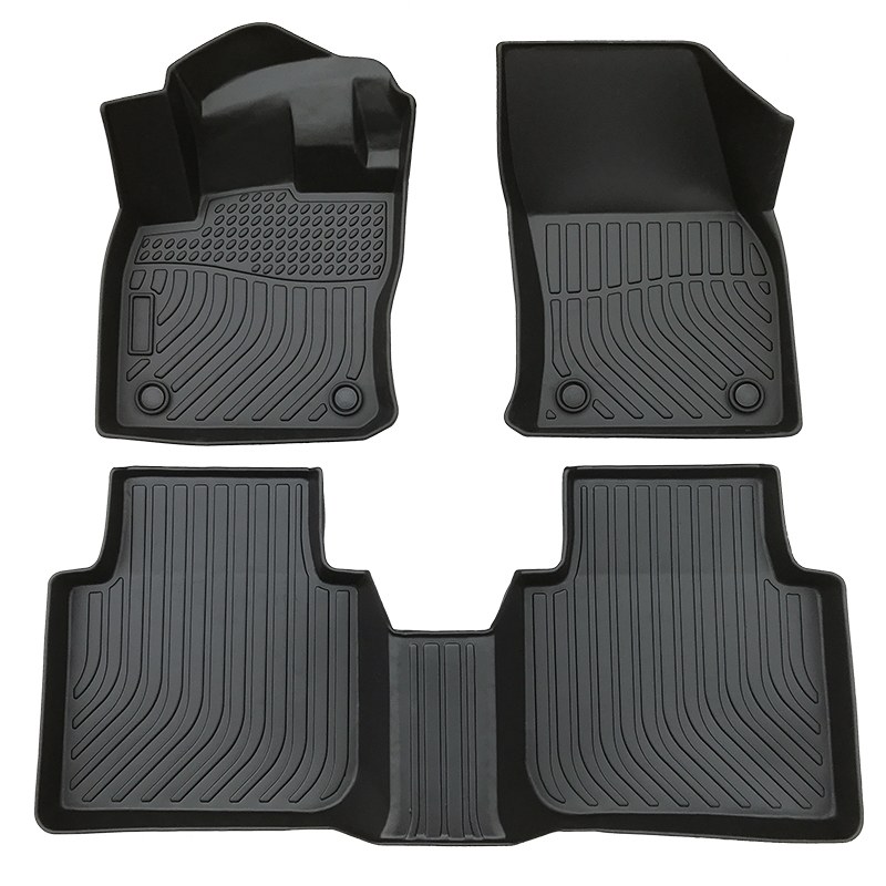 3D TPE all weather car floor liners mat for Volkswagen Tiguan