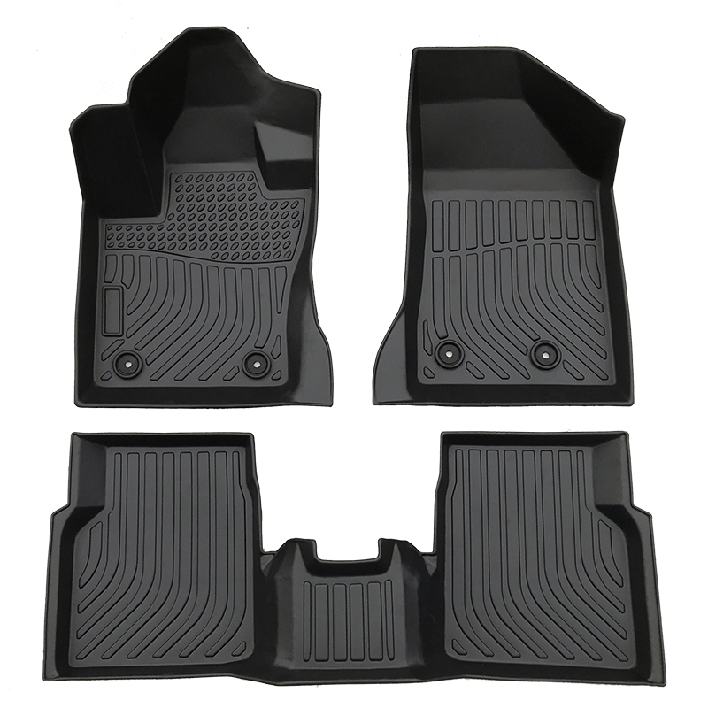 TPE all weather car floor liners mat for Jeep Compass