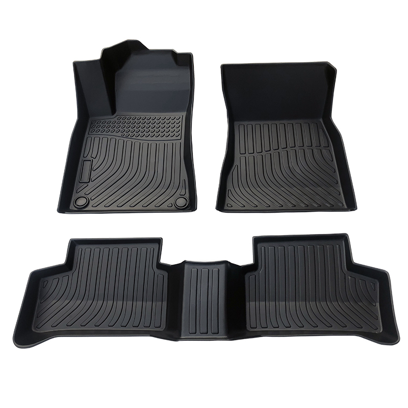TPE 5D Car floor mats car floor liners for Mercedes Benz GLA