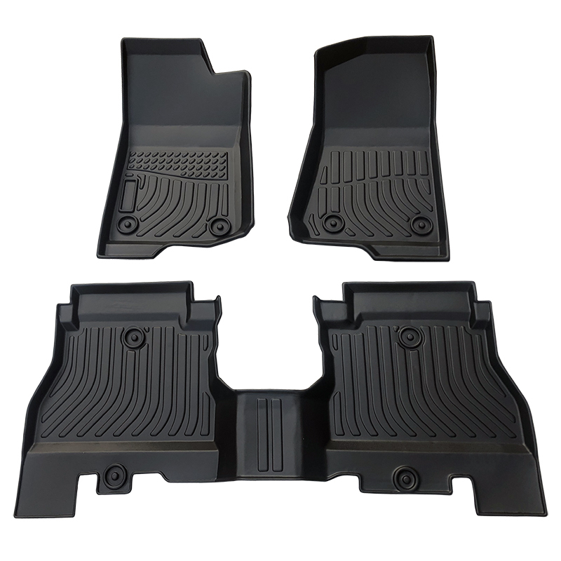TPE all weather car floor liners mat for Jeep Wrangler Unlimited JL