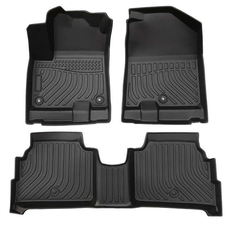 TPE 5D Car floor mats car floor liners for Kia Niro EV