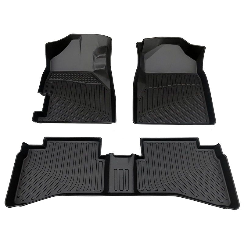 Deep dish 5D Car floor mats car carpet matting for Honda Brio