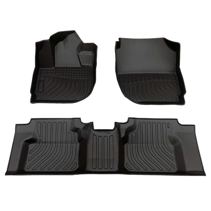 Deep dish 5D Car floor mats car carpet matting for Honda City