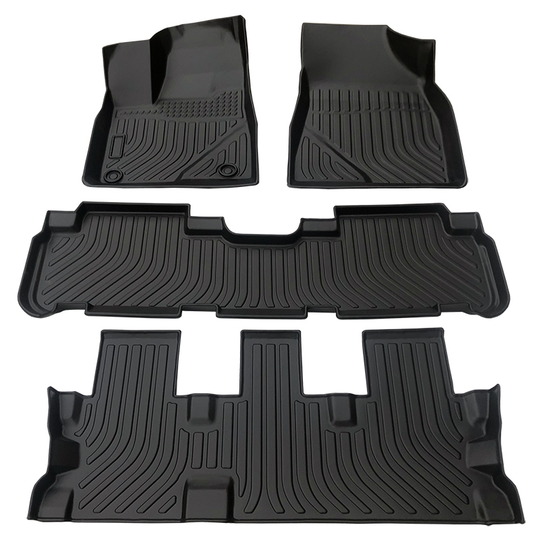 3D TPE weather car floor liner car floor mats for Toyota Highlander