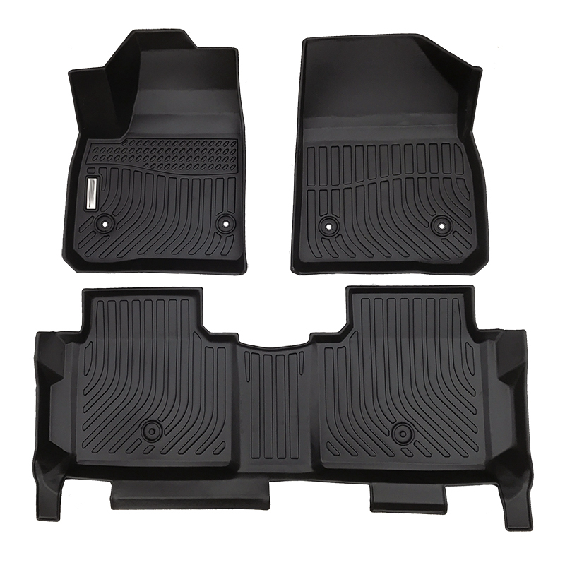TPE all weather car floor liners mats for Cadillac XT5