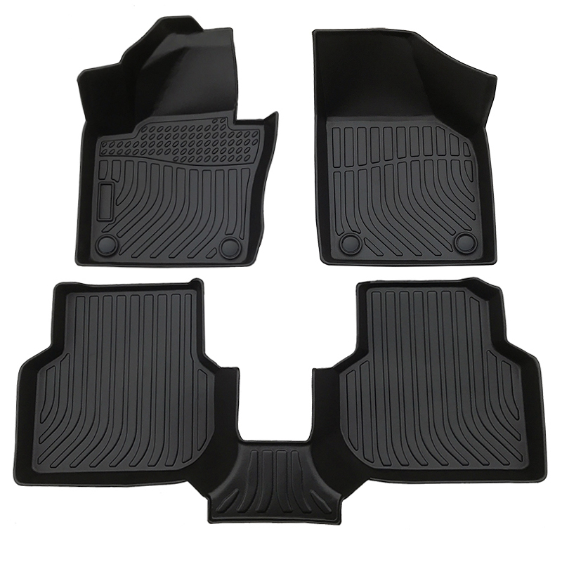 3D TPE weather car floor liners car mats for Volkswagen Jetta