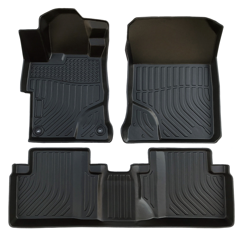 TPE all weather floor mats floor liner  for Honda Civic carpet matting