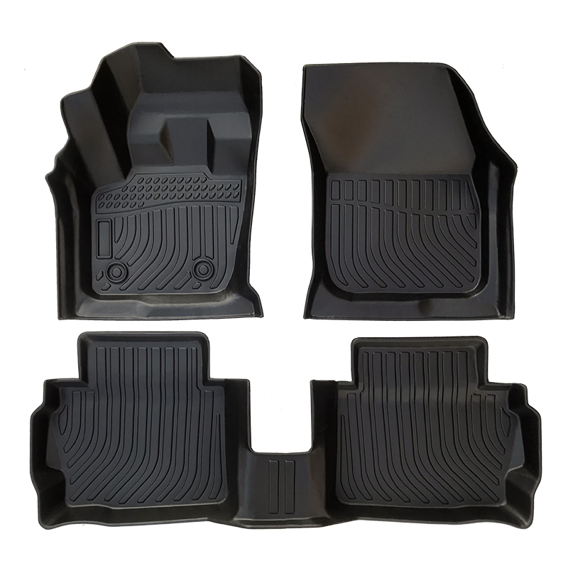 TPE all weather car floor mats floor liners for Ford Fusion