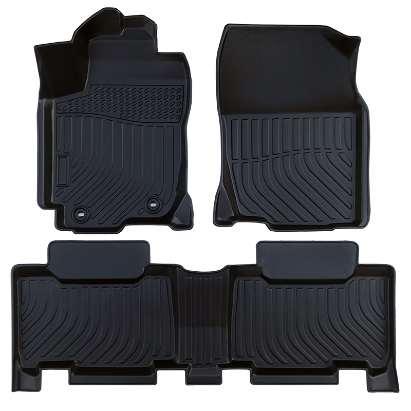 3D TPE all weather car floor liners floor mats for Toyota RAV4