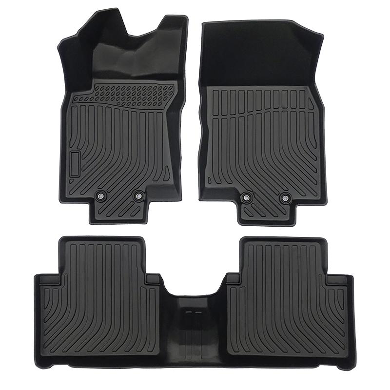 3D TPE weather car floor liner car floor mat for Nissan Rogue