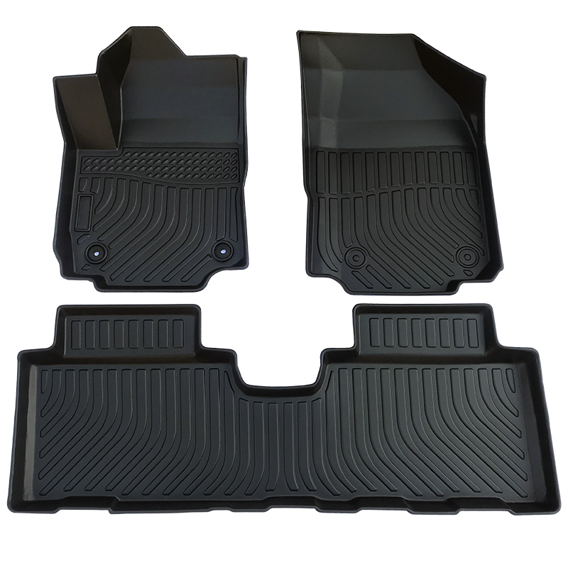 TPE 3d all weather car floor liners mat for Chevrolet Equinox