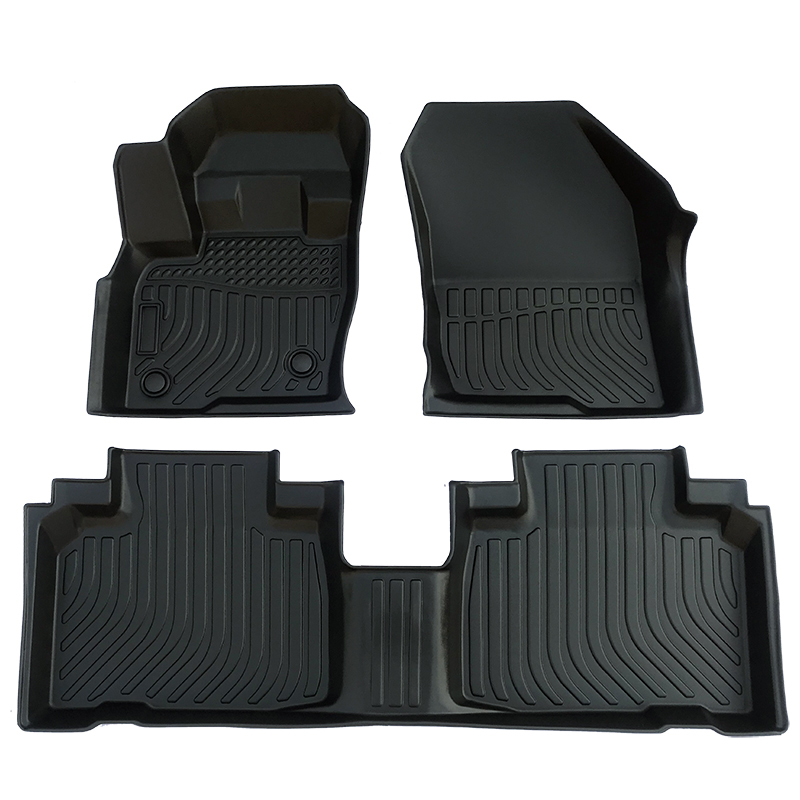 5D TPE all weather car floor cargo liners mats for Ford Edge trunk mat