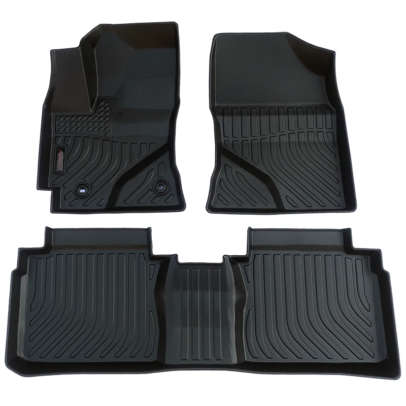 3D TPE weather car floor liner mat for Toyota Corolla carpet matting