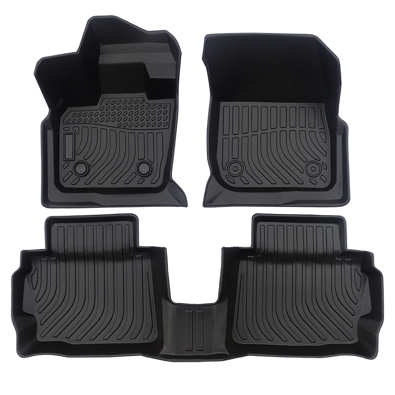 TPE all weather car floor mats floor liners for Ford Fusion carpet