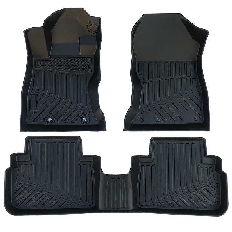 3D TPE weather car floor liners mat for Subaru Forester carpet