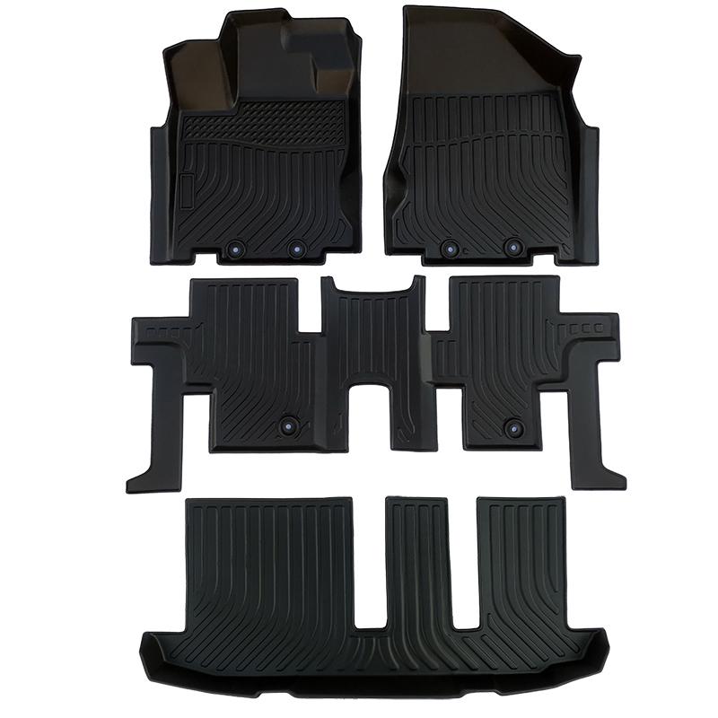 TPE all weather car floor liner floor mat for Infiniti QX60