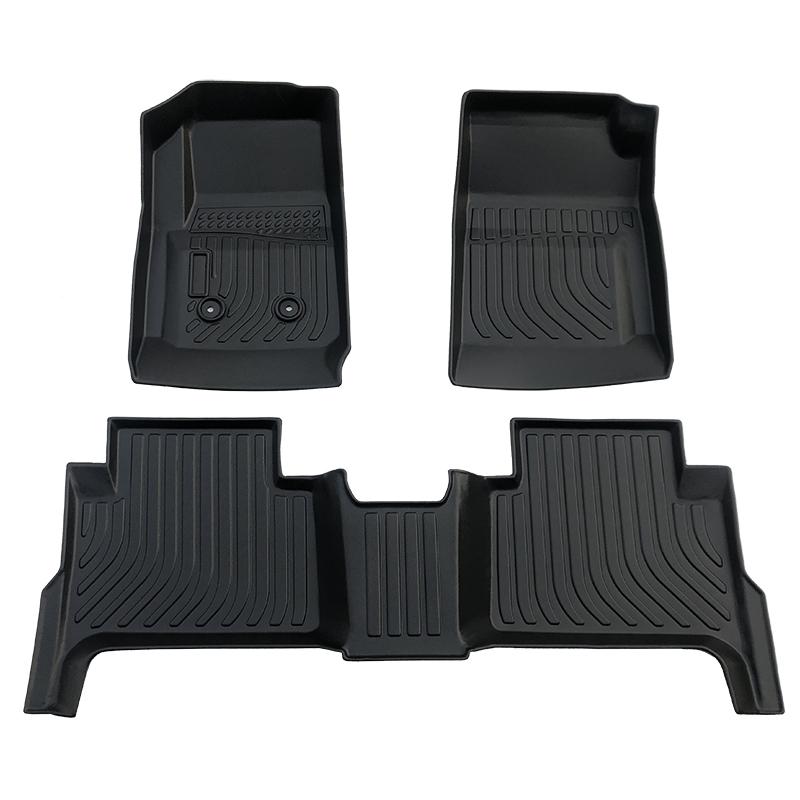 3D Tpe all weather car floor liner mats for Chevrolet Colorado