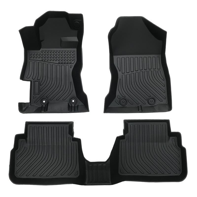 3D TPE weather car floor liners mat for Subaru Crosstrek XV