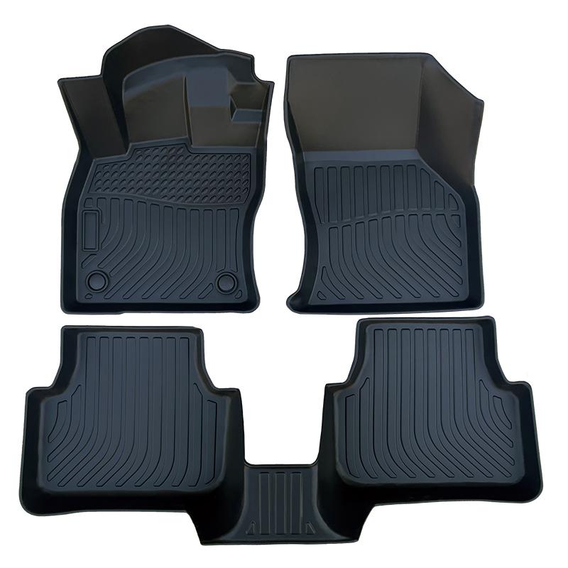 3D TPE all weather car floor liners mat for Volkswagen Jetta
