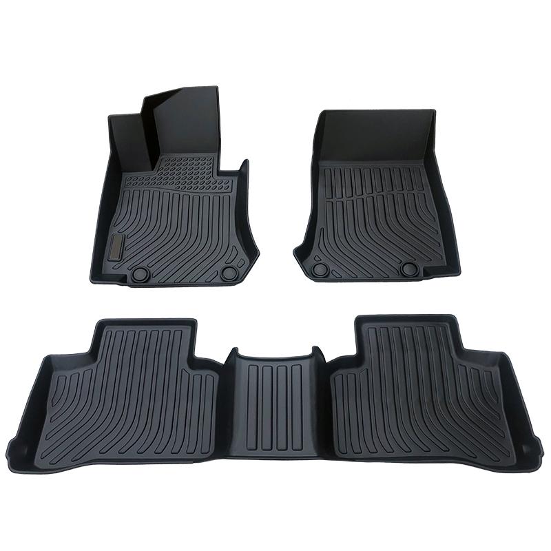 3D TPE car floor liner mat for Mercedes Benz GLC Trunk mat