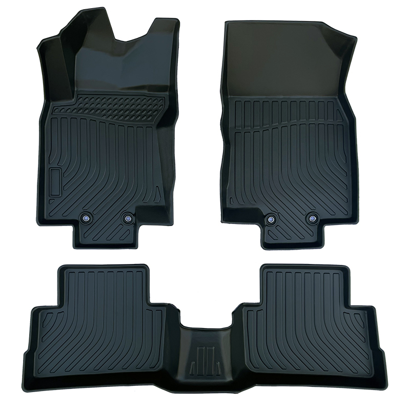 3D TPE all weather car floor mats liners for Nissan Rogue Sport