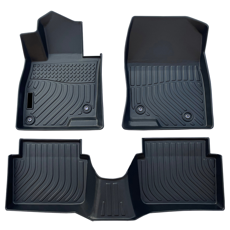 3D TPE weather car floor liners mat for Mazda 3 Axela