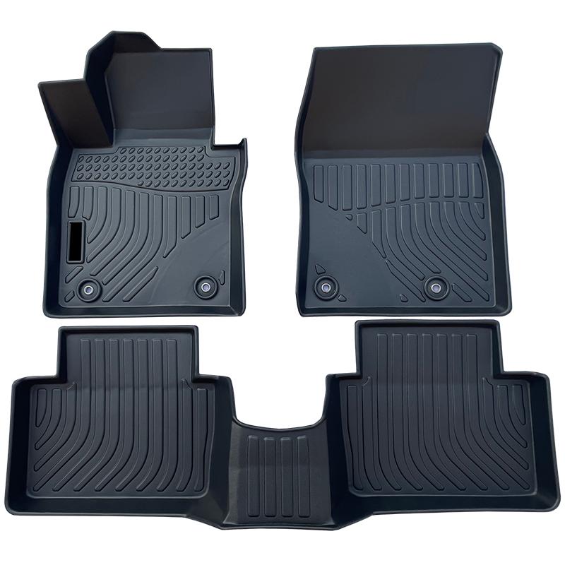 3D TPE weather car floor liners mat for Mazda 3 carpet