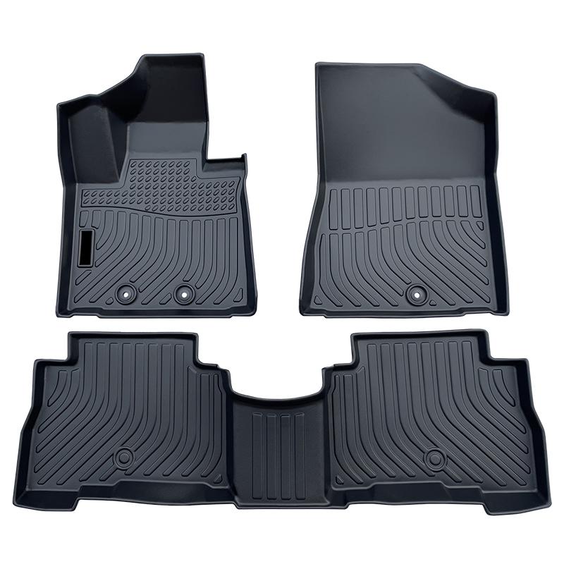 TPE all weather car floor liners mats for Kia Sorento carpet matting