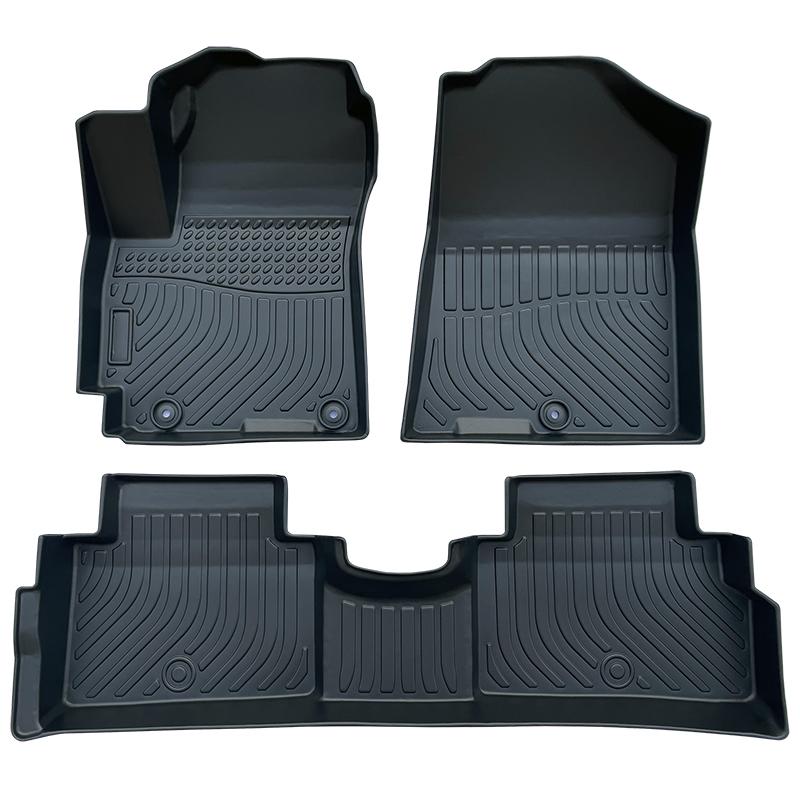 TPE weather car floor liners mats for Kia Soul carpet matting