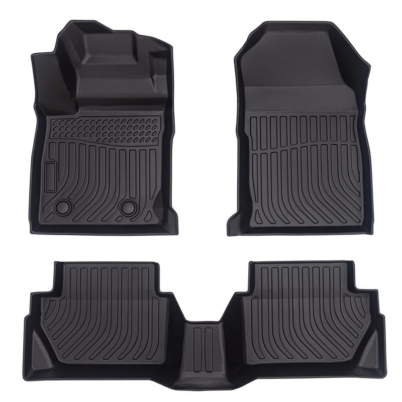 5D Deep dish carpet car floor liners mats 3D matting for Ford Fiesta