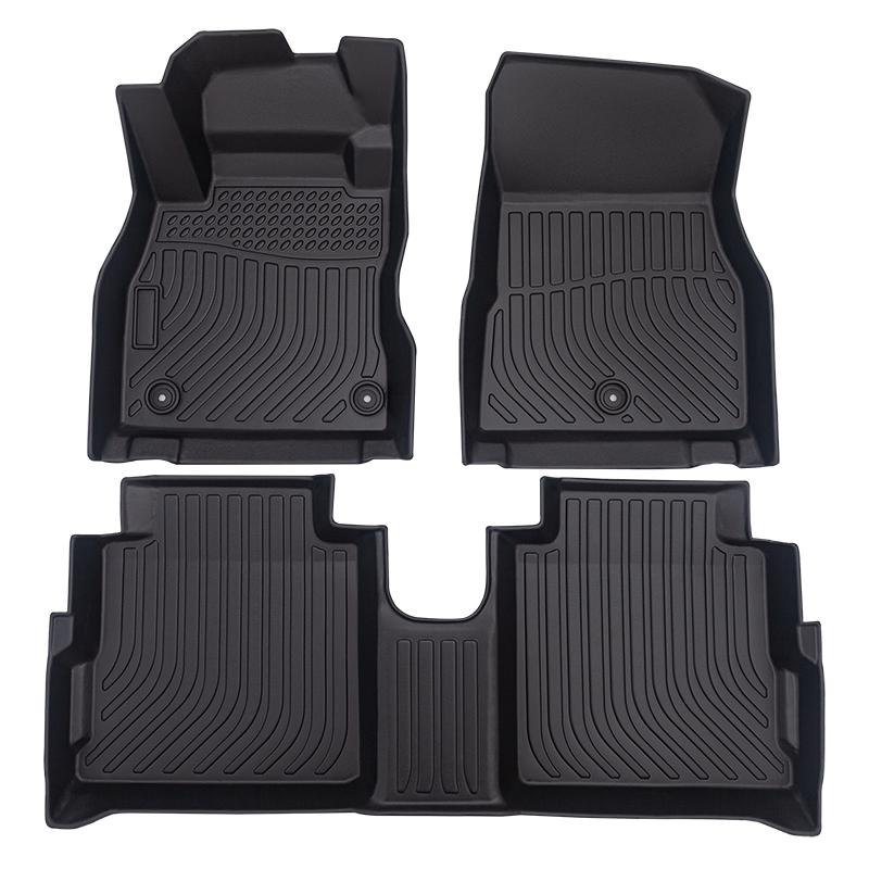 All weather 3D Car floor mats car floor liners for Nissan Kicks cargo liner trunk mat
