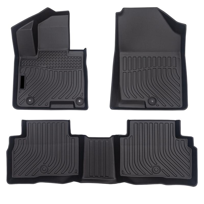 Car floor mat liner matting for Hyundai Tucson Hybrid cargo trunk mat