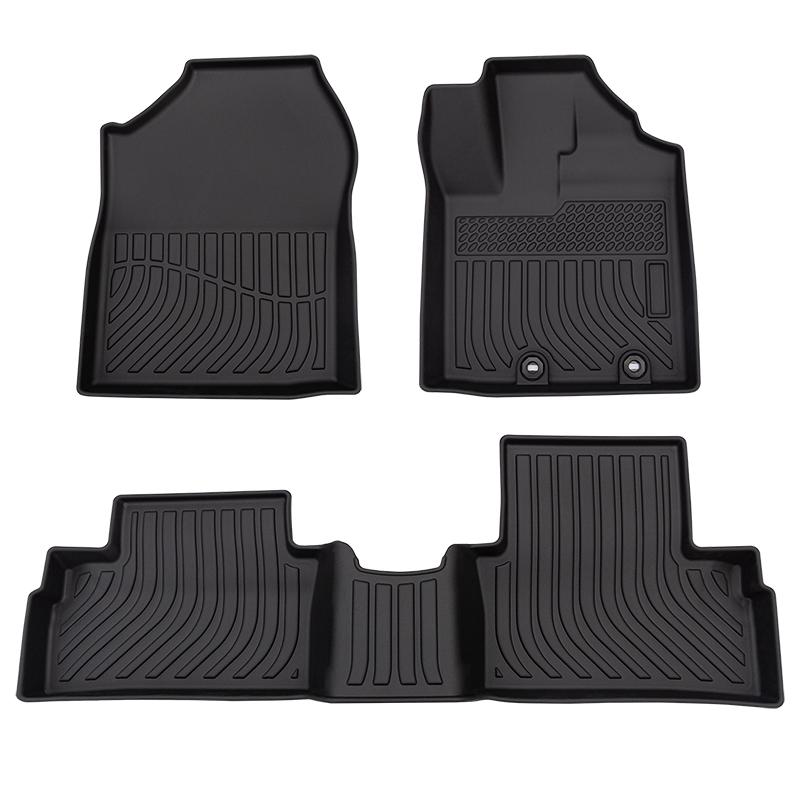 5d Car floor mats for Perodua Ativa carpet tpe car mat
