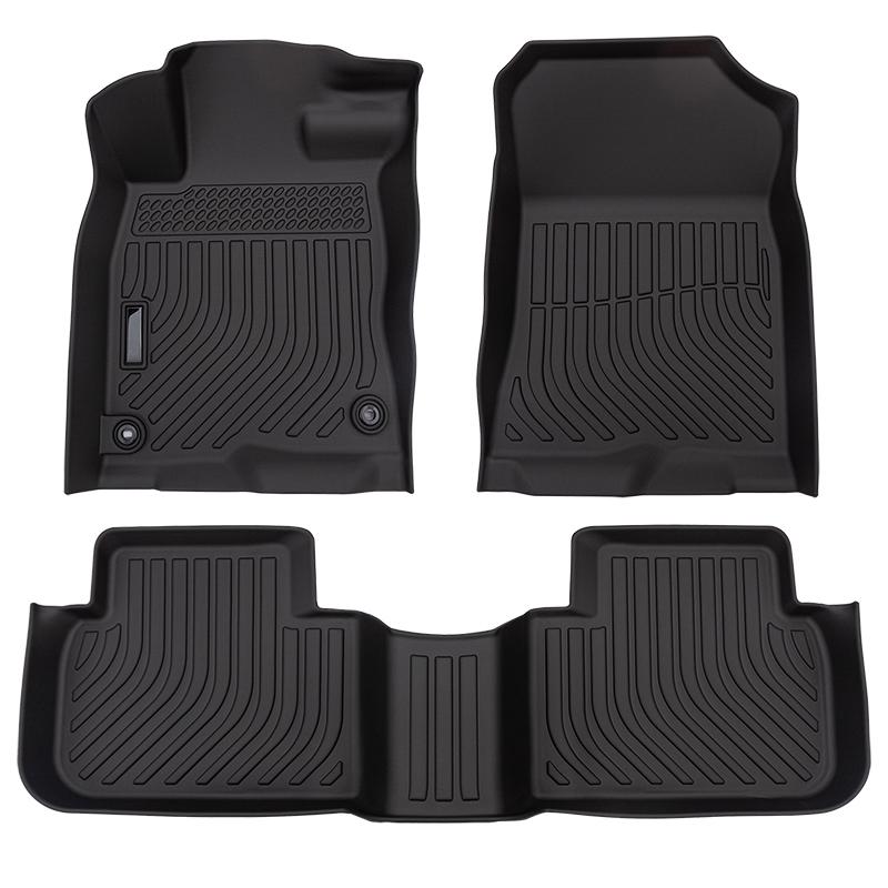 All weather car floor mats liners for Honda Civic 2022 carpet cargo trunk mat