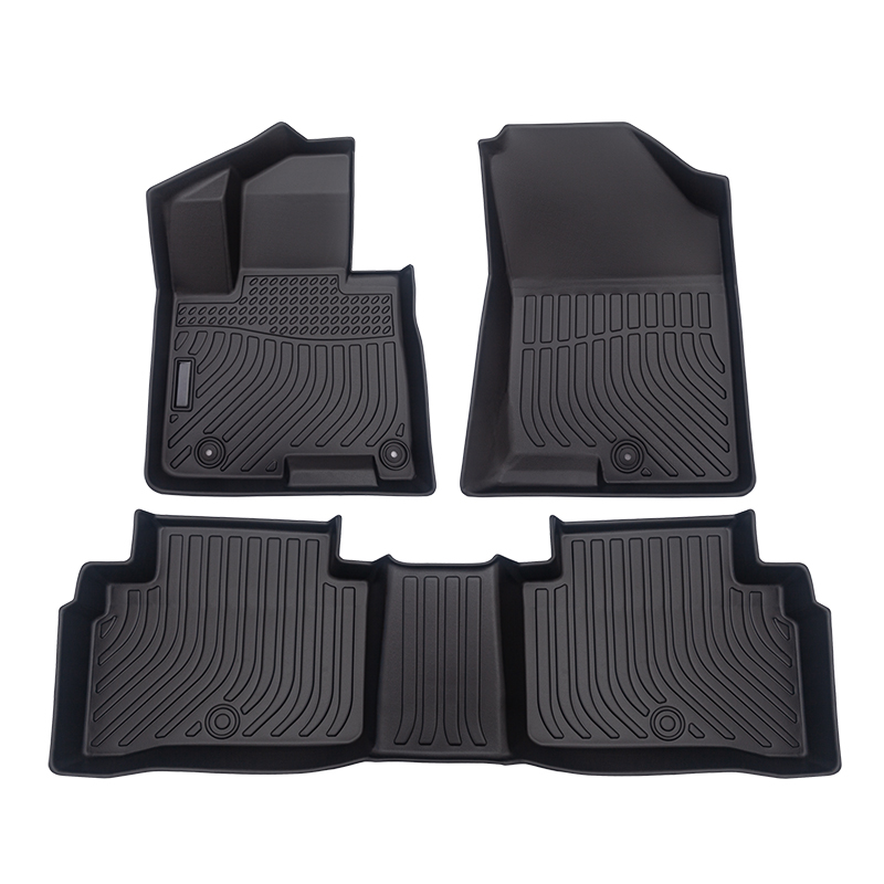 All weather car floor mats liners for Hyundai Tucson 2022- cargo trunk mat