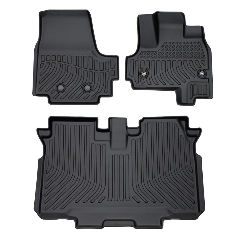 新型NBOXカスタム N-BOX 専用設計 防水 砂や泥汚れにも強い お手入れ簡単な3D立体マット car floor mat Honda N-Box