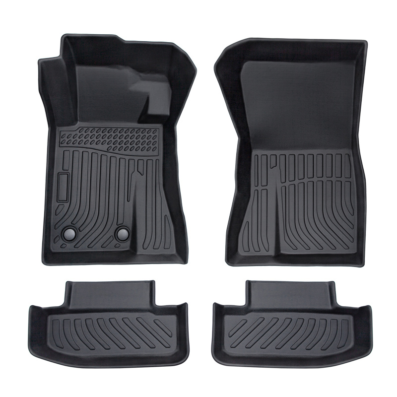 All weather TPE Car floor mats car floor liners for Ford Mustang